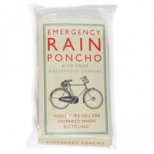 Classic Bicycle Emergency Rain Poncho