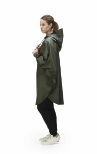 RAINS Poncho – Green