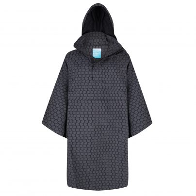 Becky Rain Cape – Black & White