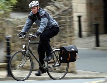 Carradice Bike Bureau on Bike