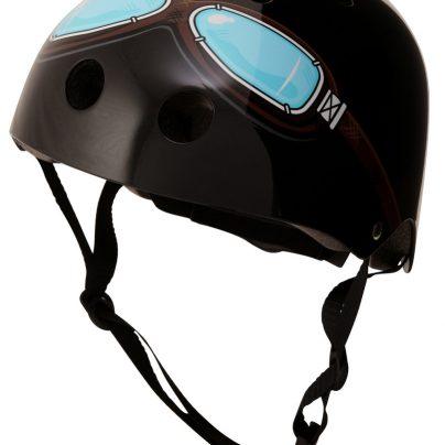 Black Goggle Helmet